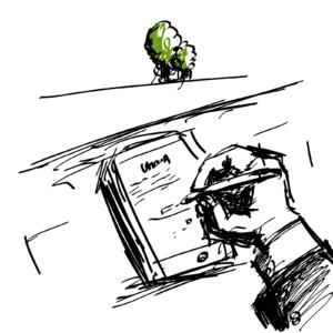 rysunek kancelaria paperless