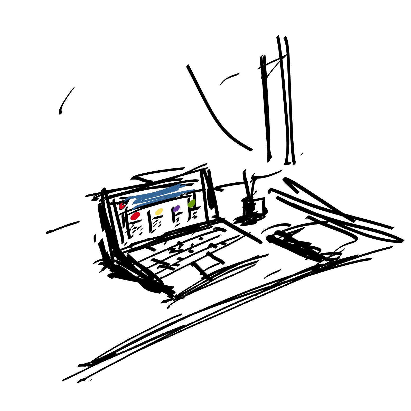 biuro; spółka S24; rysunek